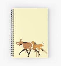 Stilts Fox Spiral Notebook