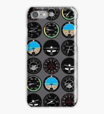 Flight Instruments iPhone Case/Skin