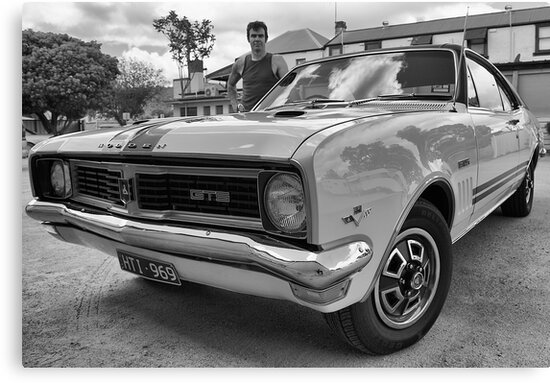 My brother's car by Maree Cardinale