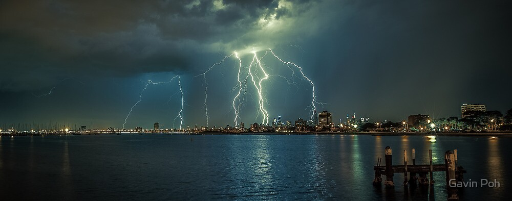 Melbourne Lightning by Gavin Poh