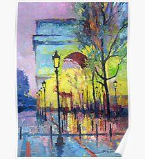 Paris Arc de Triomphie  Poster