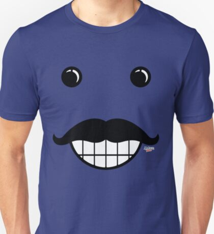 Happy Mustache Face T-Shirt