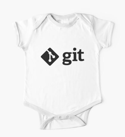 Git - Black logo Kids Clothes