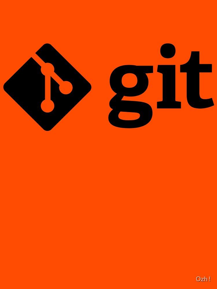 Git - Black logo by ozhy