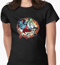 tattoo zombie Womens Fitted T-Shirt
