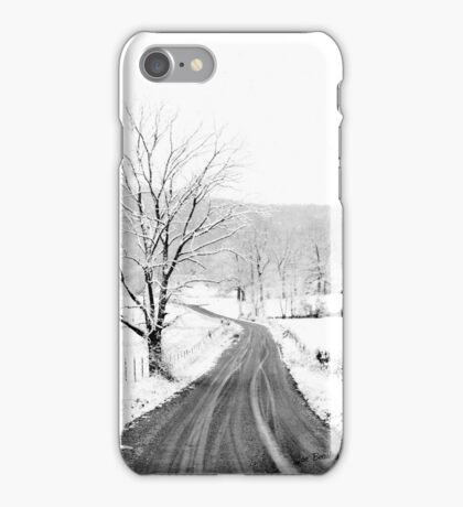 McGee Cove Road iPhone Case/Skin