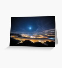 Empire of the Lights Greeting Card