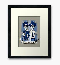 Nerd Britannia Framed Print