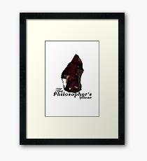 The Philosopher's Stone Framed Print