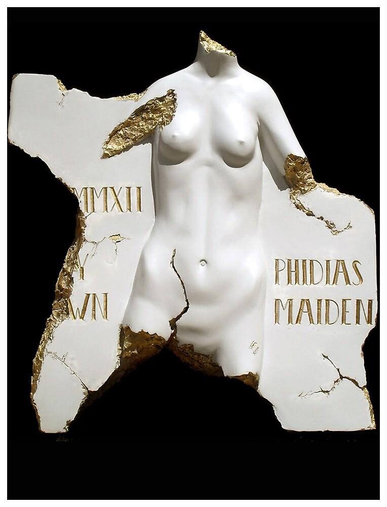 Pheidias Maiden by Troy Brown