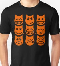 The 9 Lives of the Emoji Cat Unisex T-Shirt