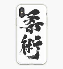 Jiu Jitsu - Charcoal Calligraphy Edition iPhone Case