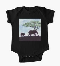 Africa's Grandest Animal One Piece - Short Sleeve