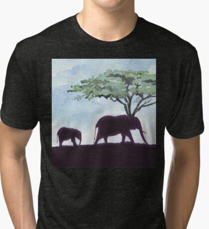 Africa's Grandest Animal Tri-blend T-Shirt