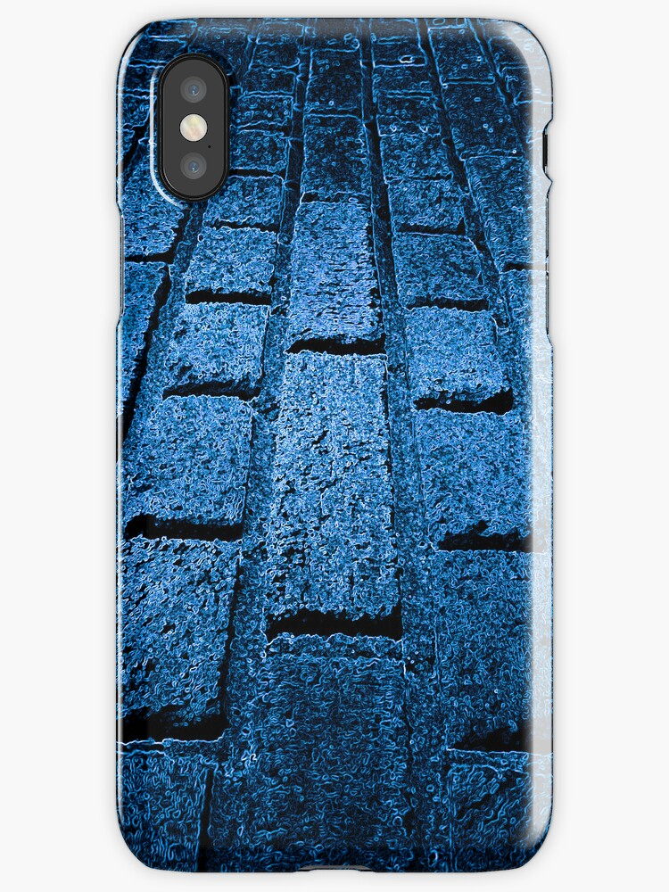 Blue Brick by Michael  Kemp