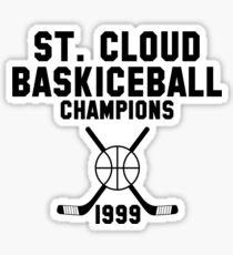St. Cloud Baskiceball Champions Sticker