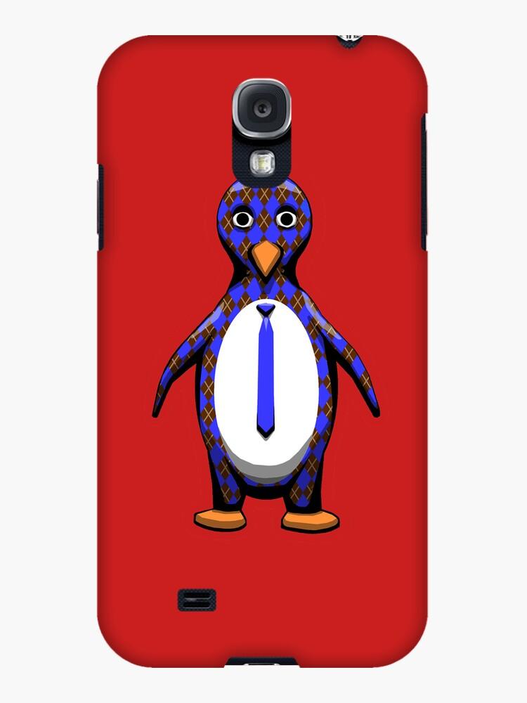 Argyle Penguin by uncmfrtbleyeti
