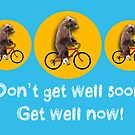 Don't get well soon, get well now! by MrPeterRossiter