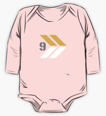 Arrows 1 - Yellow/Grey/White One Piece - Long Sleeve