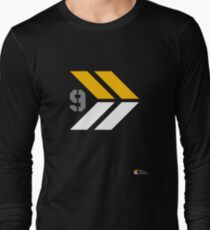 Arrows 1 - Yellow/Grey/White Long Sleeve T-Shirt