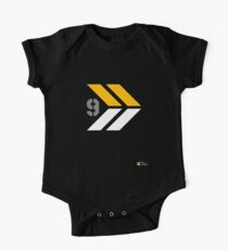 Arrows 1 - Yellow/Grey/White One Piece - Short Sleeve