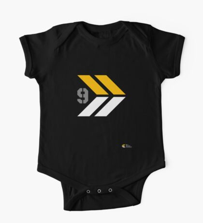 Arrows 1 - Yellow/Grey/White Kids Clothes