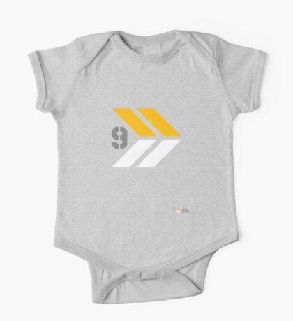 Arrows 1 - Yellow/Grey/White Kids Clothes