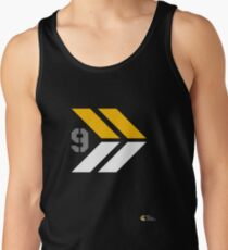 Arrows 1 - Yellow/Grey/White Tank Top