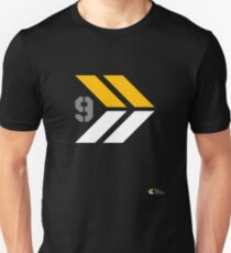 Arrows 1 - Yellow/Grey/White Unisex T-Shirt