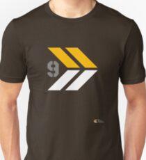 Arrows 1 - Yellow/Grey/White Unisex T-Shirt