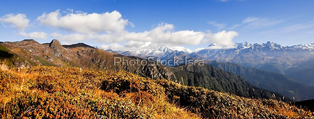 India, Sikkim landscape by PhotoStock-Isra