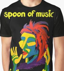 Spoon of music Graphic T-Shirt