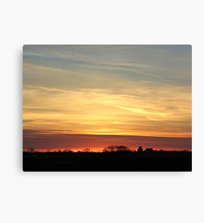 Prairie Glow Canvas Print