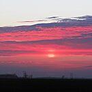 Clouds of Crimson by Greg Belfrage