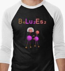 The Dancing Einstein Molecule 2 (B₆Lu₂Es₂) Men's Baseball ¾ T-Shirt