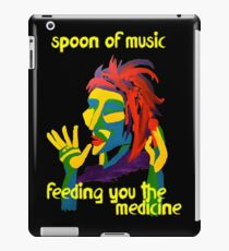 Spoon of music iPad Case/Skin