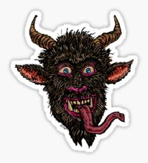 Greeting From Krampus / Gruß vom Krampus [revised] Sticker