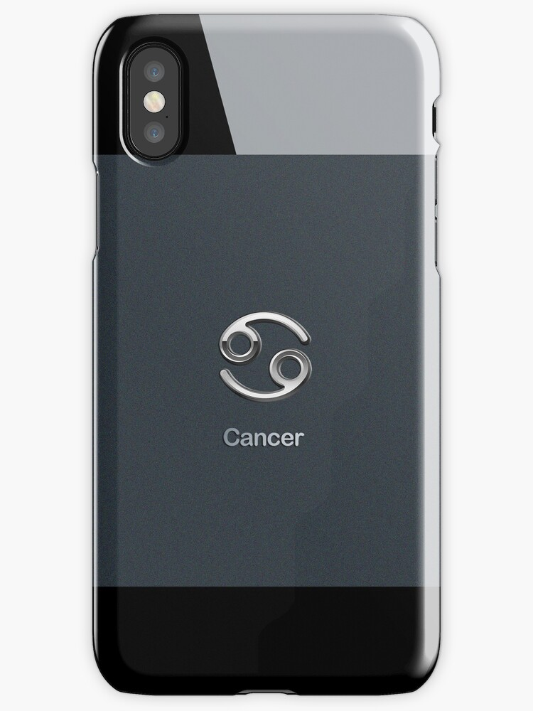 Apple Smart Phone Style with Astrology Cancer Sign | by scottorz