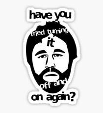 Hello, I.T. Department Sticker