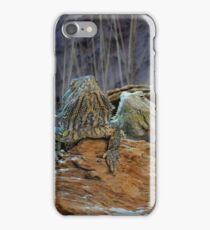 Two curious lizards iPhone Case/Skin