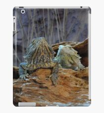 Two curious lizards iPad Case/Skin