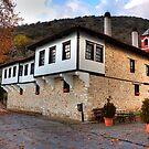Panagia Mauriotissa. Monastery at Kastoria, Makedonia, Greece by Tania Koleska