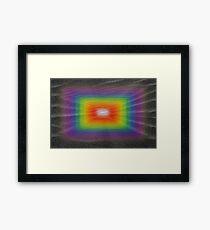Beneath Black Sands Framed Print