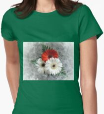 Bouquet. Womens Fitted T-Shirt
