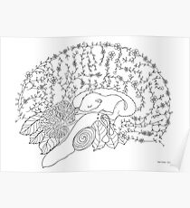 Enchanted forest brain Poster