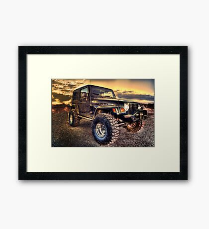 Rubicon Framed Print