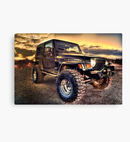 Rubicon Canvas Print