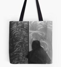 Shadow in Brushed Steel Tote Bag