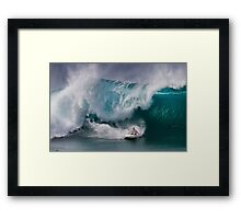 The Art Of Surfing In Hawaii 3 Framed Print