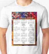 2013 BOOKMAKER T SHIRT CALENDAR Unisex T-Shirt